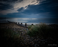Early One Morning (James 1949) Tags: shoreline sand groynes beachseascape dawn northsea neengland beach redcar england unitedkingdom gb