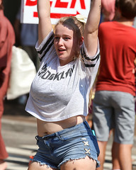 2018_AF_3238 (Knox Triathlon Dude) Tags: 2018 dance korean croptop croppedtop belly abs festival usa bellybutton shorts denim bellyshirt daisydukes shortshorts lady dancer knoxville tn female kpop midriff beautiful pretty cutoffshorts short leg legs thighs blond blonde woman cute