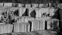 DSC_4688-Edit (vargandras) Tags: rock stone quarry pattern blackandwhite bnw bw monochrome nikkor 28105mmf3545d