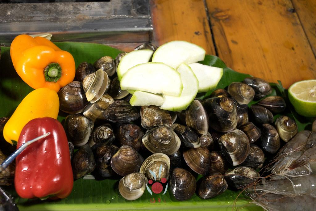 最奢華的中秋烤肉組 海鮮大集合之 龍膽石斑、泰國蝦、蚵、大卷 |小農聯盟5