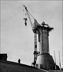 Motherland Monument (valerii reshetniak) Tags: bw blackandwhite social past historic ukraine valeriireshetniak kyiv kiev ussr themotherlandmonument construction ideology