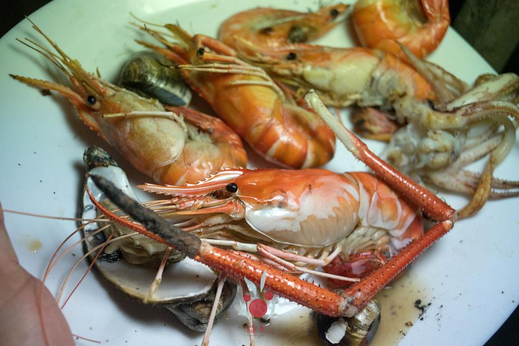 最奢華的中秋烤肉組 海鮮大集合之 龍膽石斑、泰國蝦、蚵、大卷 |小農聯盟30