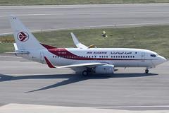 Air Algerie Boeing 737-7D6C 7T-VKS (c/n 61340) (Manfred Saitz) Tags: vienna airport schwechat vie loww flughafen wien air algerie boeing 737700 737 b737 7tvks 7treg