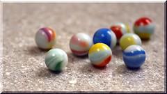 251 - 365 Nine (linda.addis) Tags: 3652018anewfocus marbles nine