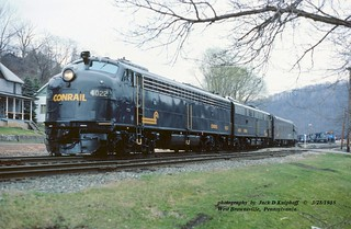 CR 4022-4020, W. Brownsville, PA. 3-28-1985