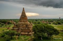 Bagan, Myanmar (ninetytwophotography) Tags: bagan myanmar burma temple storm travel
