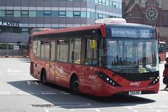 AL 8217 @ West Croydon bus station (ianjpoole) Tags: abellio london alexander dennis enviro 200mmc yx16obf 8217 working route 367 west croydon bus station bromey north