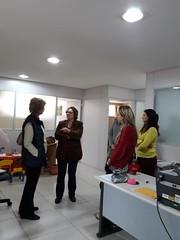 11/09/18 - Visita à Coordenadoria da Mulher - REVIVI em Bento Gonçalves, recepcionada pela coordenadora Regina Zanetti.