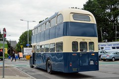 Jammie (PD3.) Tags: goodwood revival chichester west sussex rail railway vintage preserved heritage station train trains stagecoach bus buses psv pcv swindon thamesdown daimler 145 jam145e jam 145e jammie goahead go ahead south