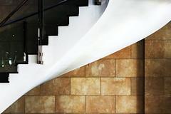 Curving (Maerten Prins) Tags: spain spanje murcia hotel stair stairs stairwell white curve curves wall stones bricks yellow brown dark shadow shadows