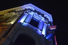 Night Club in Bucharest (Fabrizio Colucci) Tags: bucharest night club neon massage nightlife lights bucuresti romania lipscani