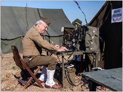 Camp militaire (didier_chantal49) Tags: emetteursrécepteurs militaire soldat tente cholet maineetloire france fr
