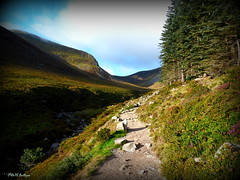 """ The Rocks of Bawn "" ("" P@tH Im@ges "") Tags: heather rockytrack mournes"