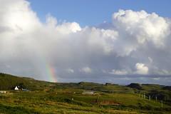 the rainbow (Suzanne's stream) Tags: rainbow regenbogen isleskye insel scotland schottland landscape landschaft rain regen