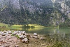 Lake of the kings (Fotos4RR) Tags: lake mountainrange hill landscape mountain scenery idyllic nonurbanscene scenic berchtesgaden königssee see reflection spiegelung nationalpark berg berge hügel landschaft germany deutschland bayern bavaria