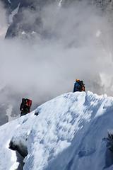 03-Alpinistes (robatmac) Tags: aiguilledumidi france hautesavoie montagne