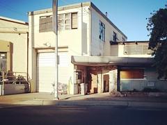 4330 Stockton Blvd (rickele) Tags: stocktonblvd southsac southsacramento boardedup breakingandentering unlawfulentry rockwall homeless homelessness teddybear shoppingcart oldus99 usroute99