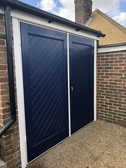 Wessex GRP side opening doors