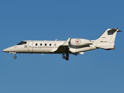 FAI Air Ambulance | Learjet 60 | D-CFAF