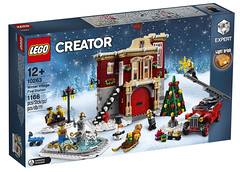 LEGO Creator Expert 10263 - Winter Fire Station (THE BRICK TIME Team) Tags: lego brick creator expert 2018 winter