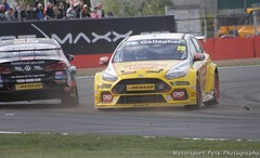 Cole Ford Focus RS British Touring Car Championship Silverstone 2018 (Motorsport Pete Photography) Tags: cole ford focus rs british touring car championship silverstone 2018