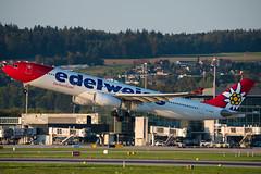 Edelweiss / A330-300 / HB-JHR (schmidli123) Tags: zurichairport zrh zrhairport hbjhr airbus airbuslovers a330 edelweiss