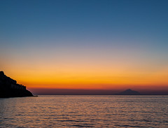 Sunset Colours - Mount Athos (View from Limnos - Greece) (Olympus OM-D EM1 II & Panasonic - Leica 15mm f1.7 Prime Lens) (1 of 1) (markdbaynham) Tags: greece greek hellas hellenic grecia greka island greekisland lemnos limnos myrinatown gr greekholiday greektown oly olympus olympusgreece olympusomd olympusem1 em1mk2 em1ii em1 csc mirrorless microfourthird microfourthirds m43 m43rd micro43 micro43rd olympusm43 olympusmircrofourthirds leica dg summilux 15mm f17 prime primelens sunset dusk