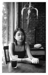Beijing Girl (Sandra Jinyi Li) Tags: kodak film bw tmax100 leica m6