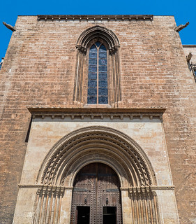 The Rear Entrance of  Valencia Cathedral (Panasonic TZ200 Travel Compact Travel Zoom)