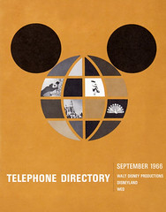 1966 Walt Disney Production, Disneyland and WED Telephone Directory (gameraboy) Tags: 1966 1960s vintage disney disneyland vintagedisney vintagedisneyland waltdisneyproduction wed telephonedirectory phonebook