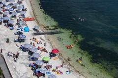 ANCONA. IL PASSETTO (FRANCO600D) Tags: ancona marche beach relax vacanze bagnanti sun sole italia italy italie italien bellitalia passetto ombrelloni canon eos6dmarkii franco600d mareadriatico centroitalia