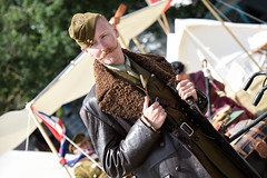 War & Peace Revival (Sean Sweeney, UK) Tags: nikon d750 dslr candid war peace revival military show 2018 hop farm kent warpeace warpeacerevival2018 hopfarm livinghistory living history reenactment paddock wood paddockwood warandpeaceshow warpeaceshow wap warandpeace soldier army vintage 1940 1940s ww2 airforce pilot moustache