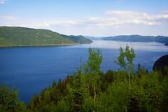 Le Fjord du Saguenay (Lucien-Guy) Tags: lansedetabatière cap fjord saguenay québec river rivière montagne mountains nuages clouds
