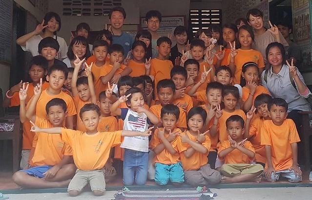 現地孤児院訪問(シェムリアップ発のオプショナルツアー)