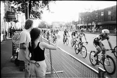 Giro di Burnaby (Mark Klotz) Tags: 35mmfilm canada summer burnaby rodinal blazinal homedeveloped kodak trix400 blackandwhite kodaktrix400 filmphotography film markklotz events burnabygiro burnabydigiro bikerace streetphotography olympus olympusxa epsonv850 analog ishootfilm