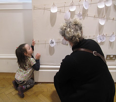 at the exhibition (NellyMoser) Tags: martha ulster museum artist lizcullinane 2014
