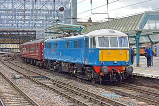 Class AL6 locomotive E3137/86259 Les Ross/Peter Pan at Carlisle