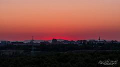 Sunset in the city (jchmfoto.com) Tags: orangesky urbanlandscape sky madrid spain europe sunset anochecer cielo cieloanaranjado crepúsculo dusk españa europa evening nightfall noche ocaso paisajeurbano puestadesol puestadelsol sundown twilight urban urbano urbanscape es