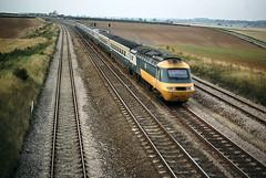 Swayfield  Class 254 up Oct 79  J6649 (DavidWF2009) Tags: class254 hst swayfield ecml