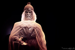 Iceman Portrait (Norbert Helbig) Tags: nikon d7200 eisskulptur eis ice skulptur portrait ausstellung kalt mann