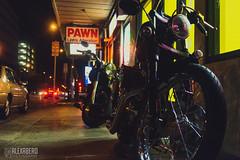 Bikes (alexabero) Tags: motorcycle bike biker city lights lowlight sony beginning hawaii citylights shops