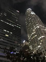US Bank Tower at night (TomChatt) Tags: dtla skyscraper skyline night