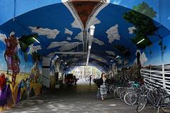 Zu den Gleisen Bahnhof Köln - Ehrenfeld (guentersimages) Tags: köln kunst graffitikunst graffiti streetart wandmalerei ehrenfeld bahnhof muralpainting painting malerei