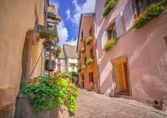Riquewihr, France - 3 (Dhina A) Tags: sony a7rii ilce7rm2 a7r2 a7r variotessar t fe 1635mm f4 za oss sonyfe1635mmf4 sel1635z tour holiday trip favorite french magical medieval beautiful village france riquewihr alsace architecture alsatian