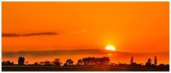 """Sunset with a touch of """"AFRICA"""" (Dieter Gora) Tags: sunset africa sh schleswigholstein schönhagen"""