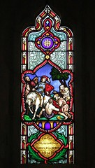 St. Mary's Church, Hartley Wintney, Hampshire (Living in Dorset) Tags: stainedglasswindow churchwindow church window stmaryschurch hartleywintney hampshire england uk gb charlespalmer 1859