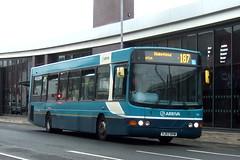 Arriva Yorkshire 1412 (Hesterjenna Photography) Tags: yj57bvw bus psv coach wright wrightcoachbuilders wrightbus commander arriva arrivayorkshire castleford singledecker transport travel