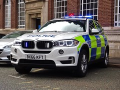 West Midlands Police/Central Motorway Police Group BMW X5 Traffic Car (MW14) BX66 KFT, Birmingham Central Police Station. (Vinnyman1) Tags: central motorway police group cmpg west midlands bmw x5 traffic car mw14 bx13 khw operations rpu roads policing unit wmp anpr automatic number plate recognition cctv closed circuit television enabled 20 emergency services service rescue 999birmingham station birmingham england uk united kingdom gb great britain