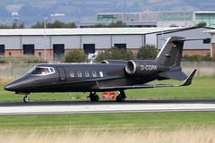 D-CGRK (GH@BHD) Tags: dcgrk learjet learjet60 l60 fairentajetag bhd egac belfastcityairport bizjet corporate executive aircraft aviation