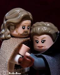 LUKE AND LEIA (kyle.jannin) Tags: lego starwars legostarwars lukeskywalker leiaorgana princess leia thelastjedi starwarsthelastjedi episode8 jedi